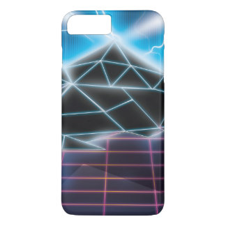Retro 1980s video game graphic iPhone 7 plus case