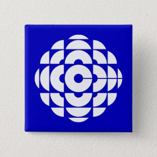Retro 1986-1992 - White 15 Cm Square Badge