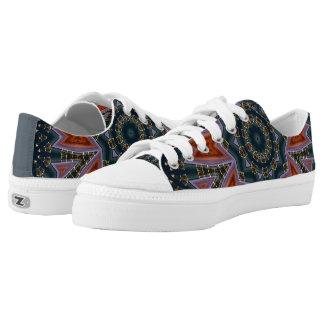 Retro 46 printed shoes
