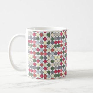 Retro 50s Dots Coffee Mug