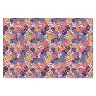 Retro/60s Pattern Tissue Paper