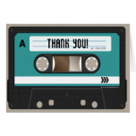 Retro 80s Cassette Mixtape Personalised Greeting Cards