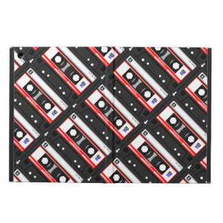 Retro 80's cassette tape cover for iPad air