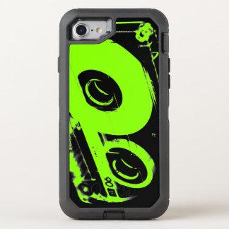 Retro 80's Design - Audio Cassette Tape OtterBox Defender iPhone 8/7 Case