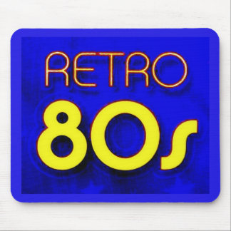 Retro 80's mouse pad