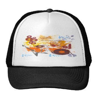 Retro 80's Music Trucker Hats