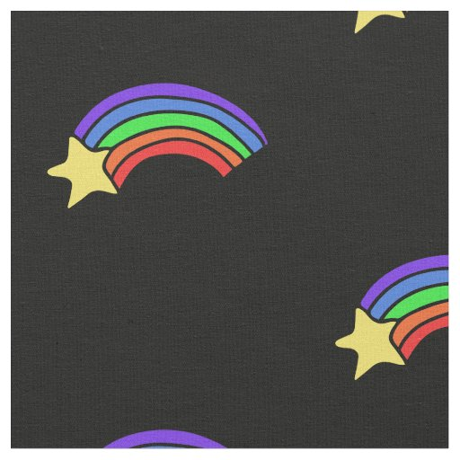 Retro 80's Rainbow Fabric
