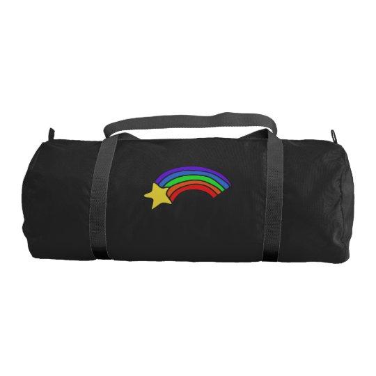 Retro 80's Rainbow Gym Bag