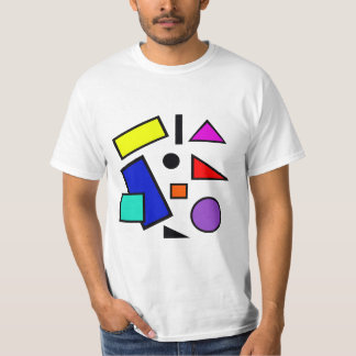 Retro 80s shapes T Shirt