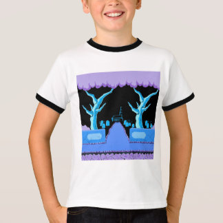 Retro 8-Bit Video Game Inspired Kids T-Shirt