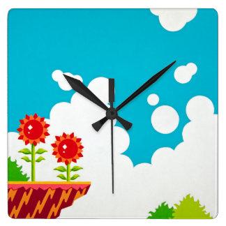 Retro 8-Bit Video Game Inspired Wall Clock