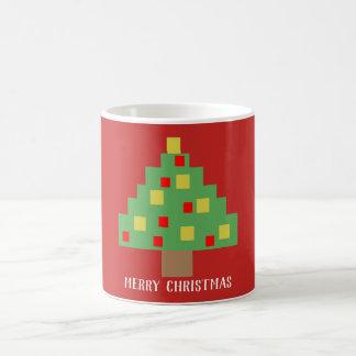 retro 8bit Christmas Coffee Mug