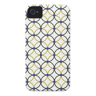 Retro Abstract Art Design iPhone 4 Cover