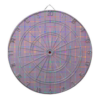 Retro Abstract In Lines Dart Board