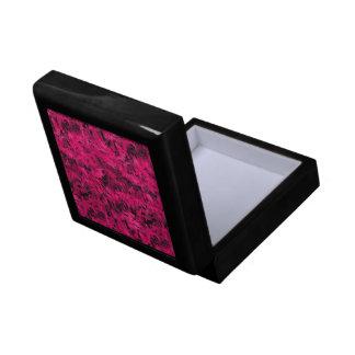 Retro Abstract Magenta Pink Gift Box