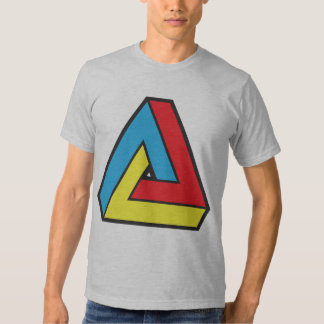 Retro Abstract Tee Shirt