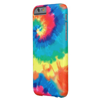 Retro Abstract Tie Dye Barely There iPhone 6 Case
