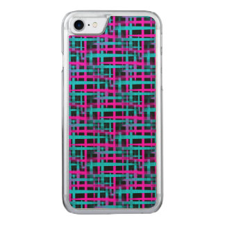 Retro Abstract Weave Pattern Carved iPhone 8/7 Case