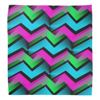 Retro Abstract Zigzag Pattern Do-rags