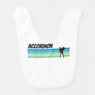 Retro Accordion Bib