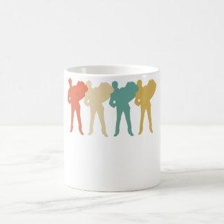 Retro Accordion Pop Art Coffee Mug