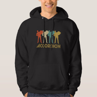 Retro Accordion Pop Art Hoodie