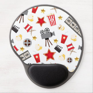 Retro Acting Movies Theatre/Theater Gel Mouse Pads