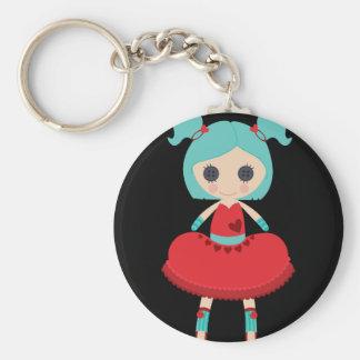 Retro Adorable Rag Doll Key Chains