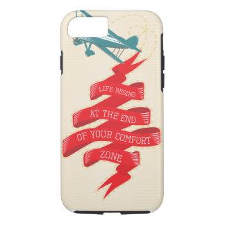Retro Airplane Adventure iPhone 7 Case