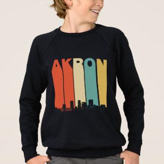 Retro Akron Ohio Skyline Sweatshirt