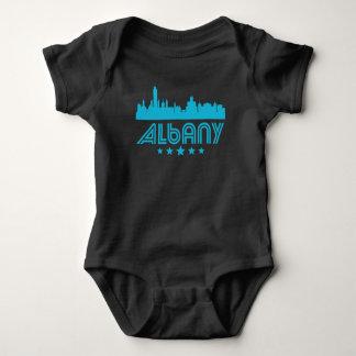 Retro Albany Skyline Baby Bodysuit