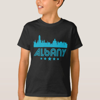 Retro Albany Skyline T-Shirt