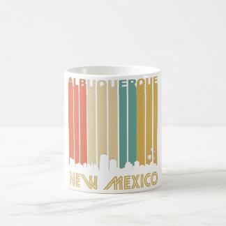 Retro Albuquerque Skyline Coffee Mug