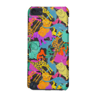 Retro Animal Silhouettes Pattern iPod Touch (5th Generation) Cases