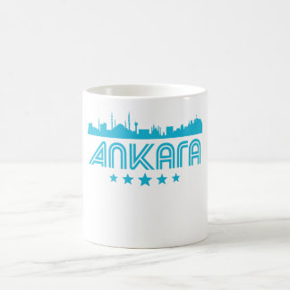 Retro Ankara Skyline Coffee Mug