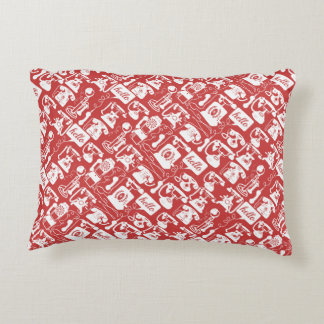Retro  Any Color Telephone Pattern Decorative Cushion