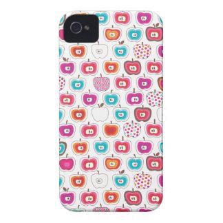 Retro apple pattern fruit blackberry case