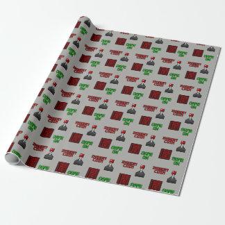 Retro Arcade Wrapping Paper