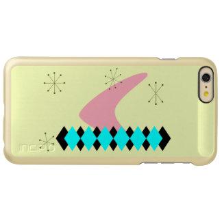 Retro Argyle Mid Century Modern Incipio Feather® Shine iPhone 6 Plus Case