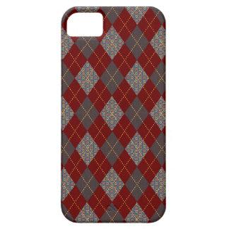 Retro Argyle Trendy Medieval Print iPhone 5 Cases