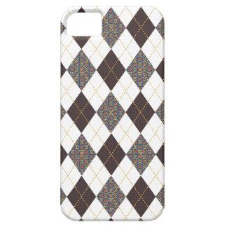 Retro Argyle Trendy Medieval Print iPhone 5 Covers
