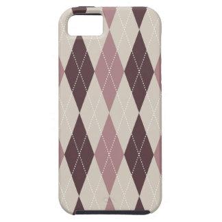 Retro Argyle Trendy Multi Case For The iPhone 5