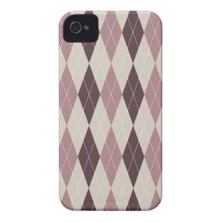 Retro Argyle Trendy Multi iPhone 4 Cover