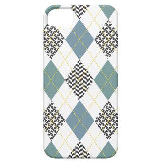 Retro Argyle Trendy Multi iPhone 5 Cases