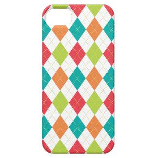 Retro Argyle Trendy Multi iPhone 5 Cover