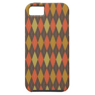 Retro Argyle Trendy Multi iPhone 5 Covers