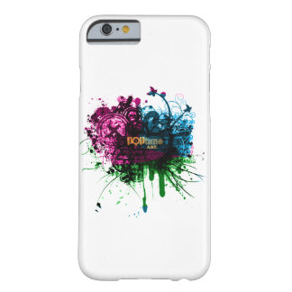 Retro Art Barely There iPhone 6 Case