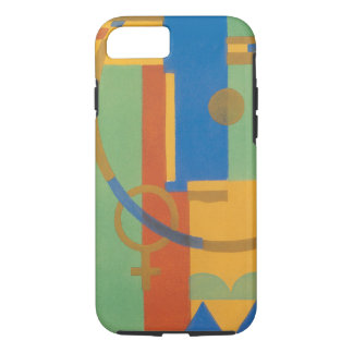 Retro Art Deco Jazz Southwest New Mexico Colors iPhone 7 Case