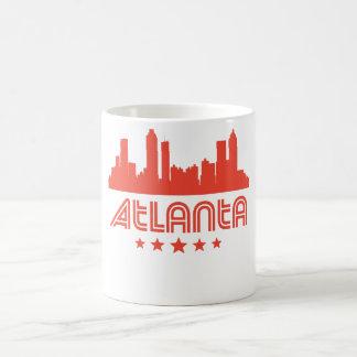 Retro Atlanta Skyline Coffee Mug