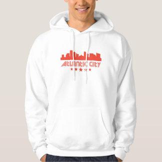 Retro Atlantic City Skyline Hoodie